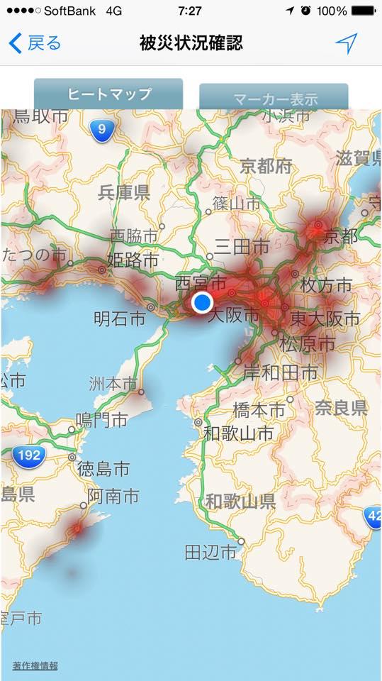 SPORES2015 ヒートマップ状況2