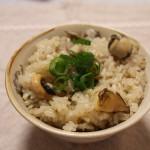 魚貝のバーベキューと サザエ飯!